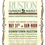 Ruston Farmers Market poster