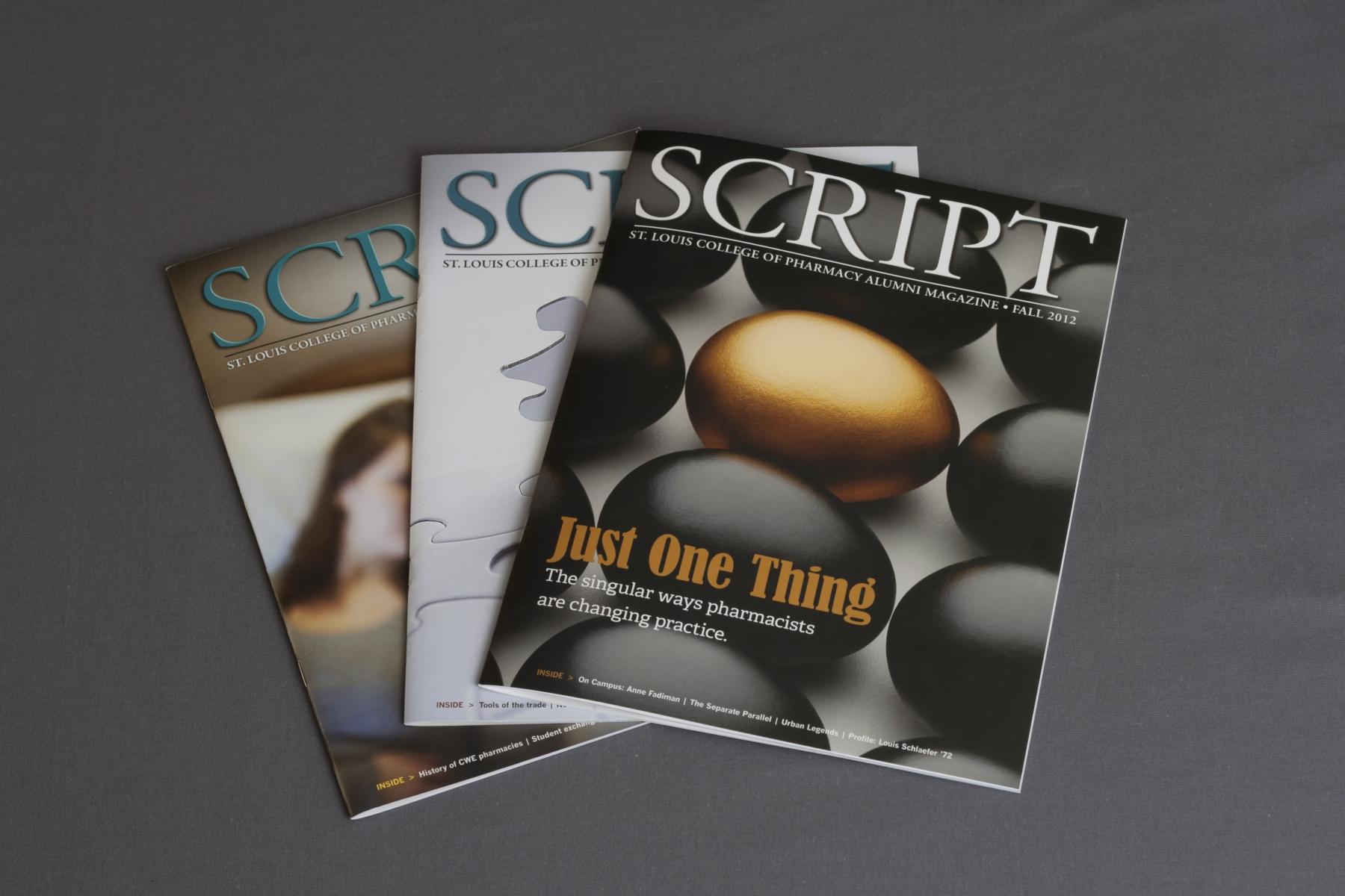 STLCOP: Script Alumni Magazine