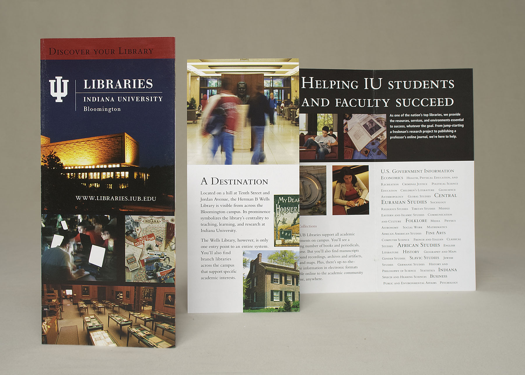 IUB LIBRARIES: Discover Your Library
