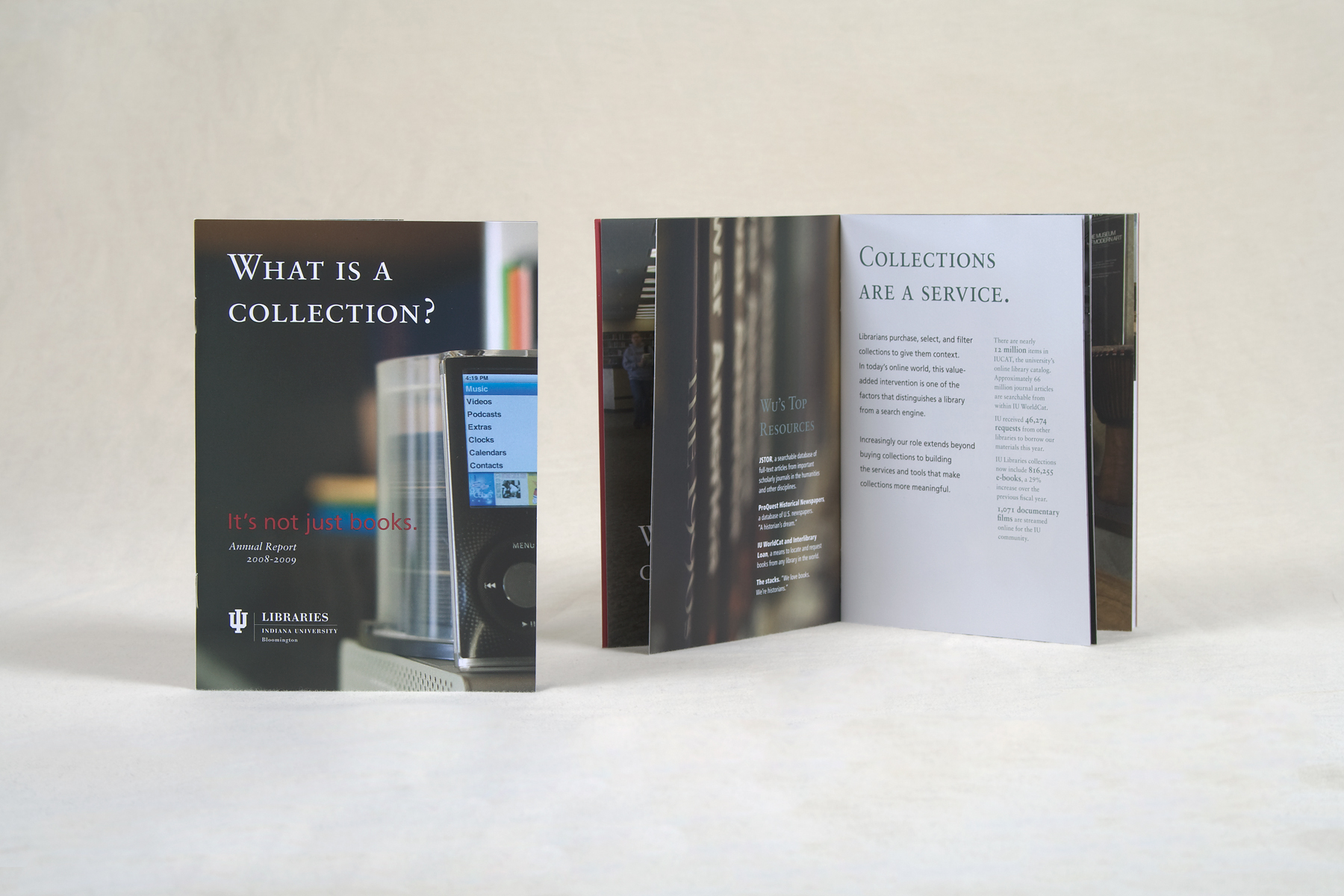 IUB LIBRARIES: What is a collection? annual report