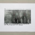 2008-01 soundTRANSITIONS promotional silkscreen poster