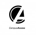 2005 INDIANA UNIVERSITY BLOOMINGTON Campus Access logotype 2005