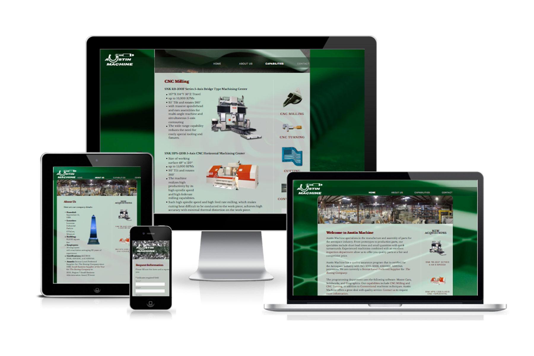 AUSTIN MACHINE website
