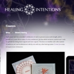 Healing Intentions website