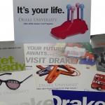 DRAKE UNIVERSITY direct mailers