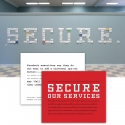 2008-04 SECURE.  wall installation with informational cards